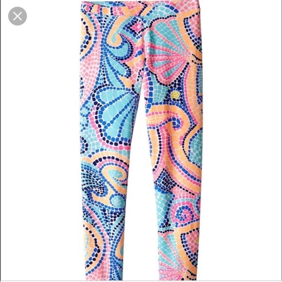 1c91b1d8da0a8 Lilly Pulitzer Other - NWOT Girls Lilly Pulitzer Maia Leggings size XL